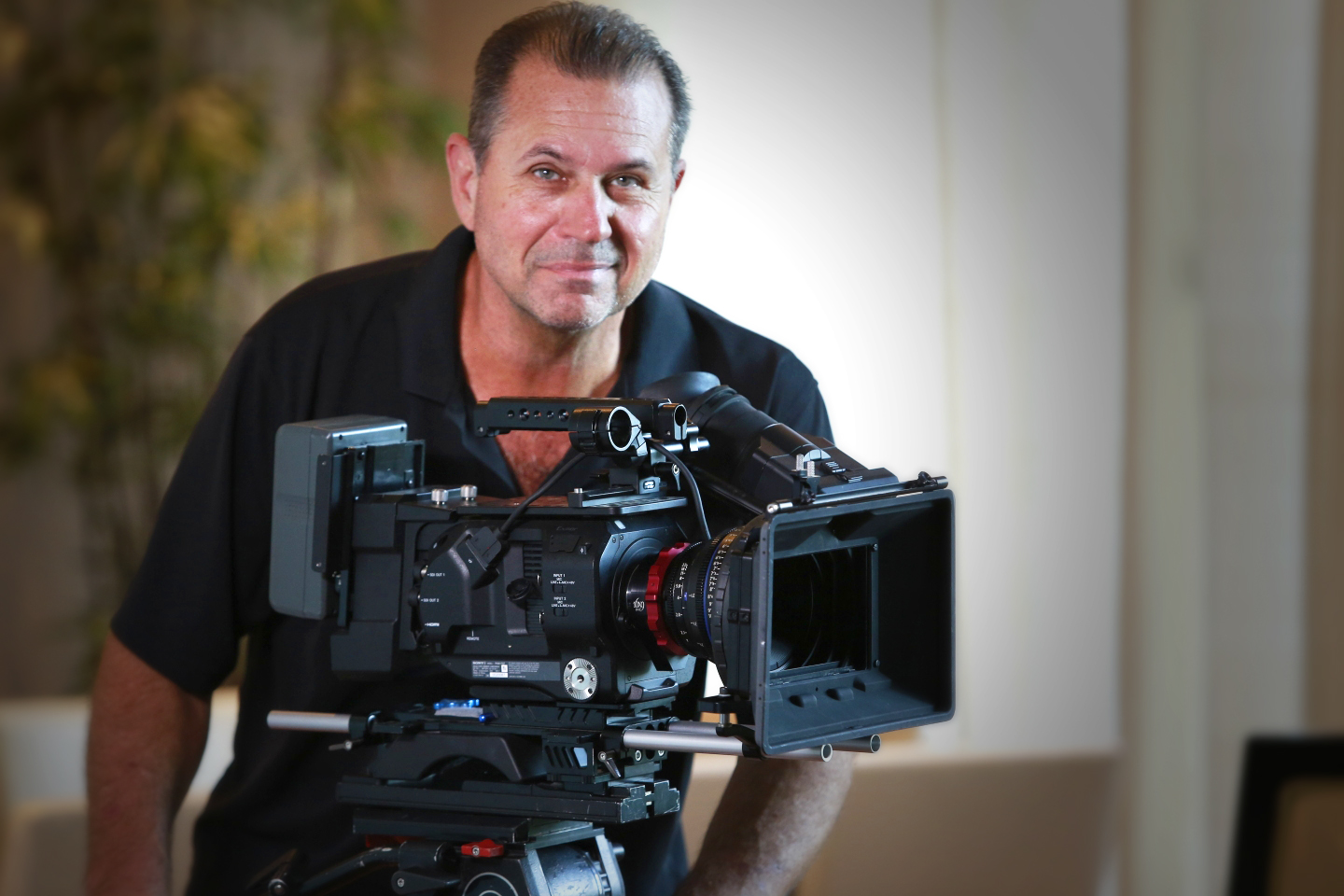 Mark Moore, Gumbo Productions owner and Director of Photography